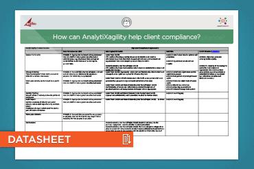 How can AnalytiXagility help client compliance?